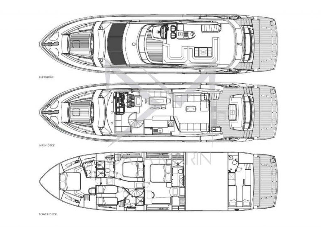 Sunseeker 75 Yacht 2005 Data Marin_Sayfa_17